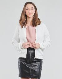 Oblačila Ženske Puloverji Moony Mood CHUCK Bela