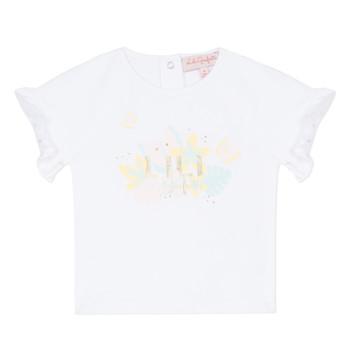 Oblačila Deklice Majice s kratkimi rokavi Lili Gaufrette NALIS Bela