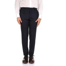 Oblačila Moški Elegantne hlače Incotex 1AT091 1721T Blue