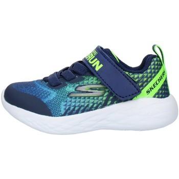 Čevlji  Otroci Nizke superge Skechers 97858N Blue Lime