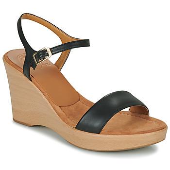 Čevlji  Ženske Sandali & Odprti čevlji Unisa RITA Črna