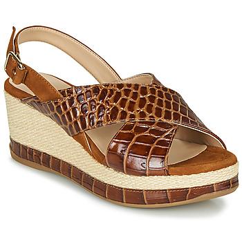 Čevlji  Ženske Sandali & Odprti čevlji Unisa KASTRO Kamel