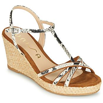 Čevlji  Ženske Sandali & Odprti čevlji Unisa LLINAR Piton