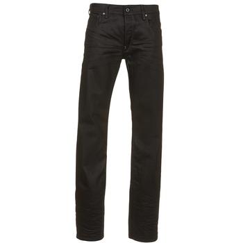 Oblačila Moški Jeans straight G-Star Raw ATTAC STRAIGHT Črna