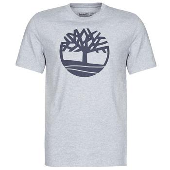 Oblačila Moški Majice s kratkimi rokavi Timberland SS KENNEBEC RIVER BRAND TREE TEE Siva