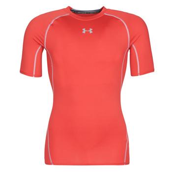Oblačila Moški Majice s kratkimi rokavi Under Armour UA HEATGEAR ARMOUR Rdeča