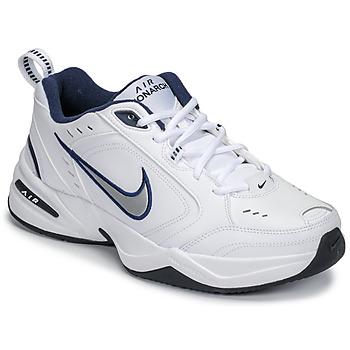 Čevlji  Moški Nizke superge Nike AIR MONARCH IV Bela / Siva