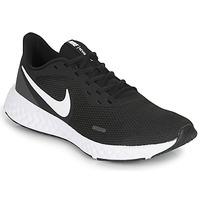 Čevlji  Moški Šport Nike REVOLUTION 5 Črna / Bela