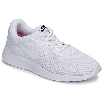 Čevlji  Ženske Nizke superge Nike TANJUN Bela