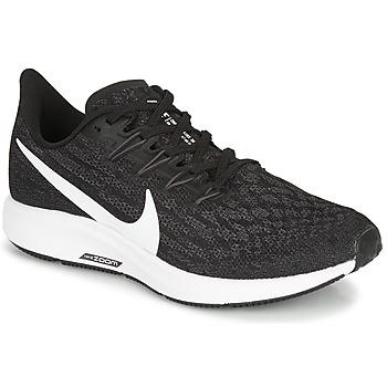 Čevlji  Ženske Tek & Trail Nike ZOOM PEGASUS 36 Črna / Bela