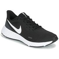 Čevlji  Ženske Šport Nike REVOLUTION 5 Črna / Bela
