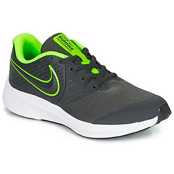 Čevlji  Dečki Šport Nike STAR RUNNER 2 GS Črna / Zelena