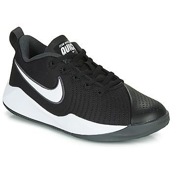 Čevlji  Otroci Šport Nike TEAM HUSTLE QUICK 2 GS Črna / Bela