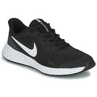 Čevlji  Otroci Šport Nike REVOLUTION 5 GS Črna / Bela