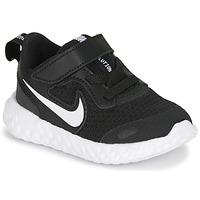 Čevlji  Otroci Šport Nike REVOLUTION 5 TD Črna / Bela