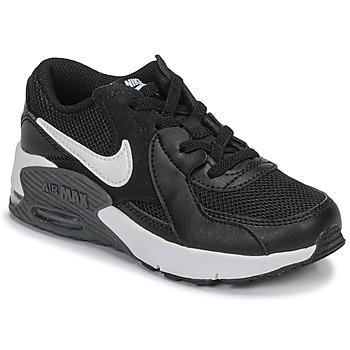 Čevlji  Otroci Nizke superge Nike AIR MAX EXCEE PS Črna / Bela