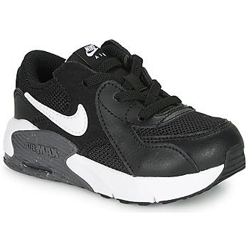 Čevlji  Otroci Nizke superge Nike AIR MAX EXCEE TD Črna / Bela
