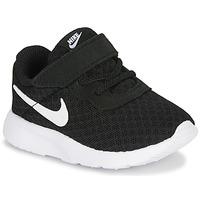 Čevlji  Otroci Nizke superge Nike TANJUN TD Črna / Bela