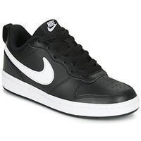 Čevlji  Otroci Nizke superge Nike COURT BOROUGH LOW 2 GS Črna / Bela