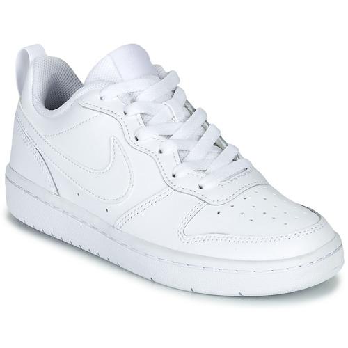 Čevlji  Otroci Nizke superge Nike COURT BOROUGH LOW 2 GS Bela