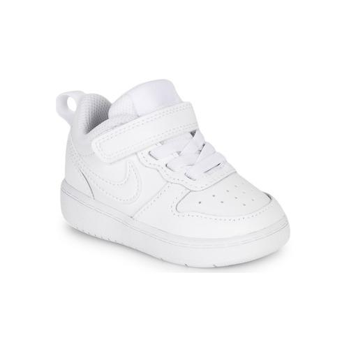 Čevlji  Otroci Nizke superge Nike COURT BOROUGH LOW 2 TD Bela