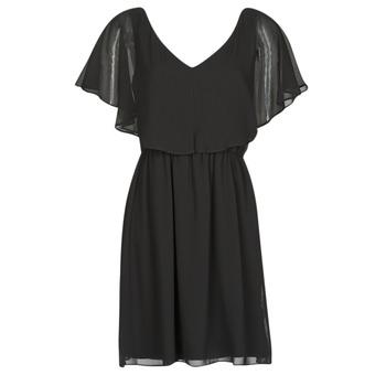 Oblačila Ženske Kratke obleke Naf Naf LAZALE Črna