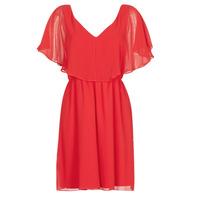 Oblačila Ženske Kratke obleke Naf Naf LAZALE Rdeča