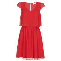 Oblačila Ženske Kratke obleke Naf Naf NEW JOEY Rdeča