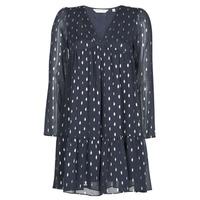 Oblačila Ženske Kratke obleke Naf Naf FOIL Modra