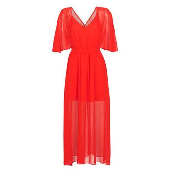 Oblačila Ženske Dolge obleke Naf Naf CAMILLE R1 Rdeča