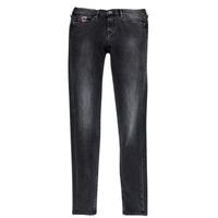 Oblačila Deklice Kavbojke slim Pepe jeans PAULETTE Črna