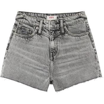 Oblačila Deklice Kratke hlače & Bermuda Pepe jeans ROXIE Siva