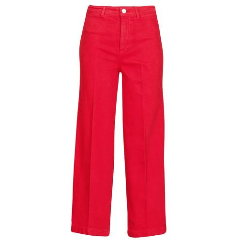 Oblačila Ženske Kavbojke bootcut Tommy Hilfiger BELL BOTTOM HW CCLR Rdeča