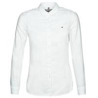 Oblačila Ženske Srajce & Bluze Tommy Hilfiger HERITAGE REGULAR FIT SHIRT BLC