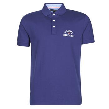 Oblačila Moški Polo majice kratki rokavi Tommy Hilfiger ARCH ARTWORK REGULAR POLO Modra