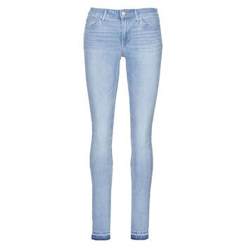 Oblačila Ženske Jeans skinny Levi's 711 SKINNY To / The / Wire