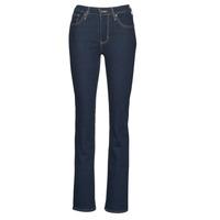 Oblačila Ženske Kavbojke bootcut Levi's 725 HIGH RISE BOOTCUT Modra