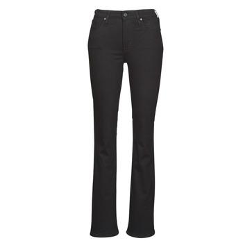 Oblačila Ženske Kavbojke bootcut Levi's 725 HIGH RISE BOOTCUT Črna