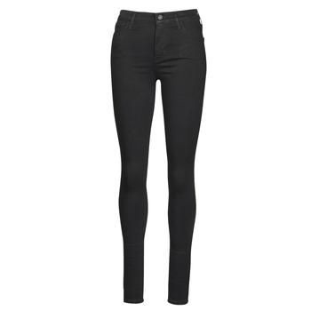 Oblačila Ženske Jeans skinny Levi's 720 HIRISE SUPER SKINNY Črna / Galaxy
