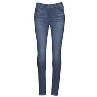 Oblačila Ženske Jeans skinny Levi's 720 HIRISE SUPER SKINNY ECHO / Storm