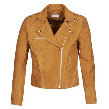Oblačila Ženske Usnjene jakne & Sintetične jakne Betty London MARILINE Cognac