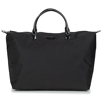 Torbice Ženske Potovalne torbe LANCASTER BASIC VERNI 68 Črna