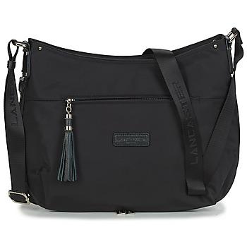 Torbice Ženske Ročne torbice LANCASTER BASIC POMPON 38 Črna