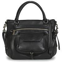 Torbice Ženske Ročne torbice LANCASTER SOFT VINTAGE 5767 Črna