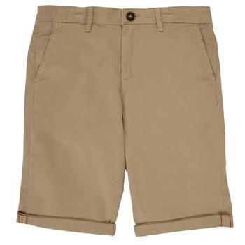 Oblačila Dečki Kratke hlače & Bermuda Jack & Jones JJIBOWIE Bež