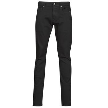 Oblačila Moški Jeans skinny G-Star Raw REVEND SKINNY Črna