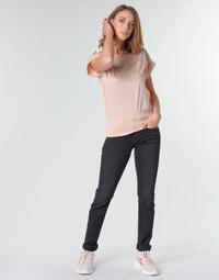 Oblačila Ženske Jeans straight G-Star Raw MIDGE MID STRAIGHT WMN Siva