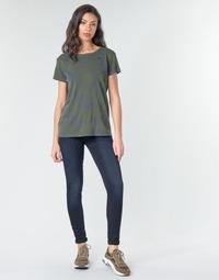 Oblačila Ženske Jeans skinny G-Star Raw 3301 HIGH SKINNY WMN Tmavá / Vintage