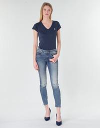 Oblačila Ženske Jeans skinny G-Star Raw ARC 3D MID SKINNY WMN Modra