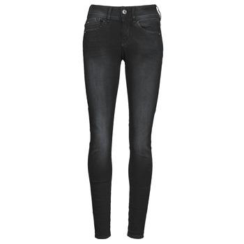 Oblačila Ženske Jeans skinny G-Star Raw LYNN MID SKINNY WMN Siva